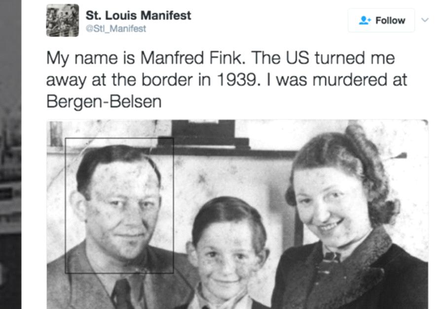 Passengers aboard the Saint Louis Manifest.