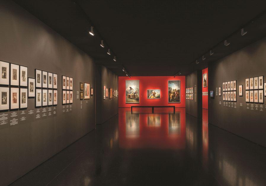 Vue d'ensemble de la rétrospective consacrée à Goya