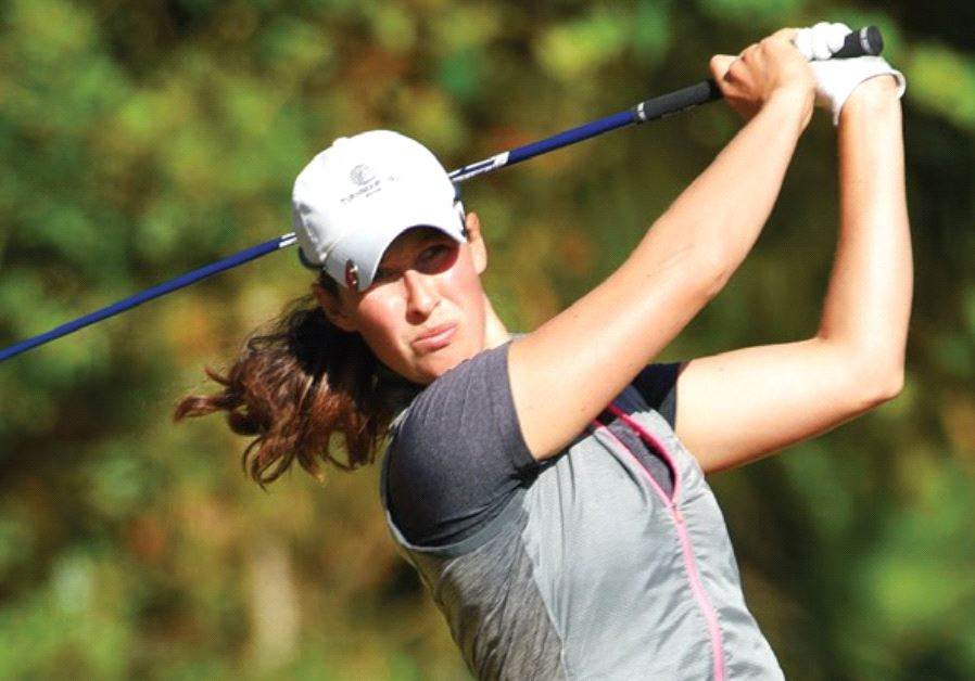 ISRAEL'S TOP-RANKED golfer Laetitia Beck got 2017 off to a great start with a career-high eighth-pla