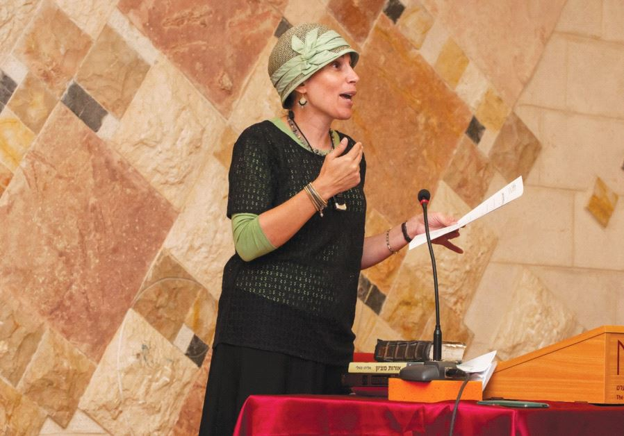 SHANI TARAGIN, educational director of the Bellows Eshkolot Institute of Matan, the Sadie Rennert Wo