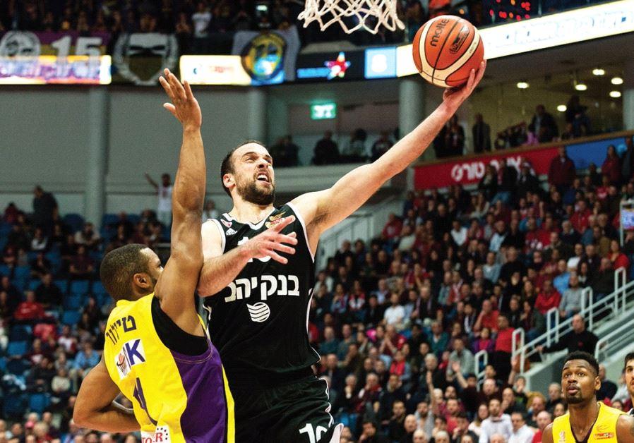 Israeli guard Yotam Halperin has been Hapoel Jerusalem's top local player in the Eurocup Top 16 to d
