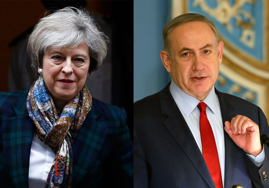 Netanyahu and May