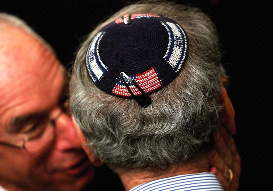 CONTENTIOUS TIMES in America are bringing out antisemitism.