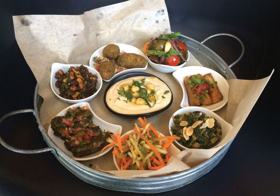 Modern restaurant at Israel Museum