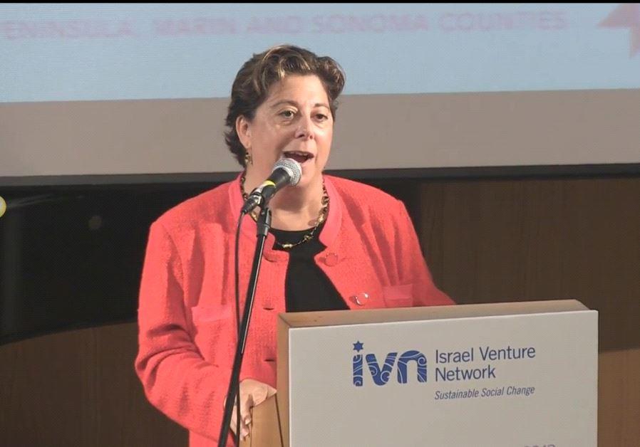 Jennifer Gorovitz, VP of the New Israel Fund