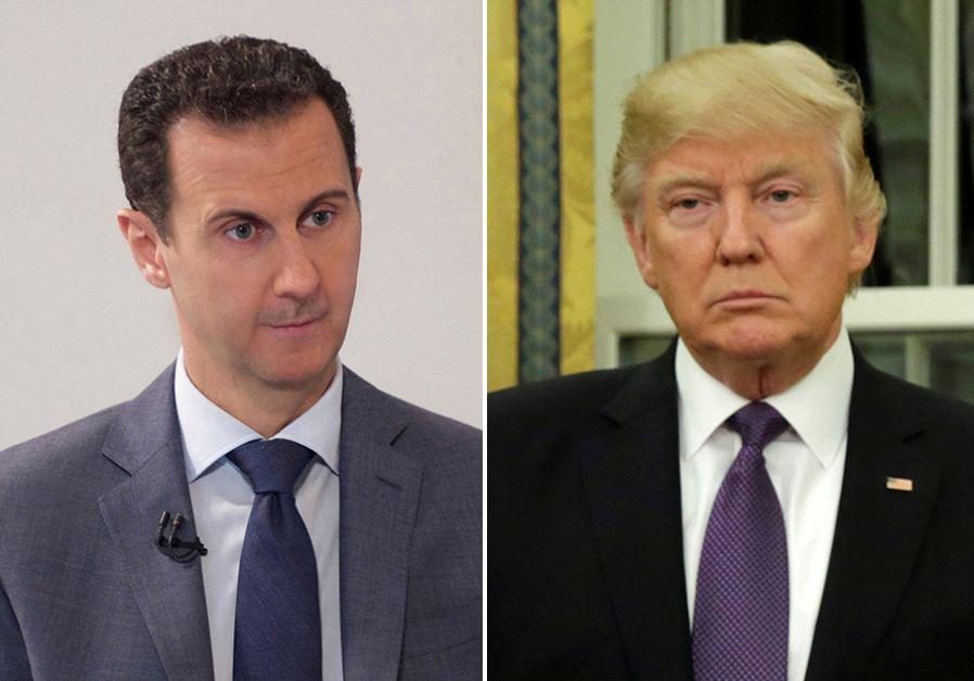 Assad Trump
