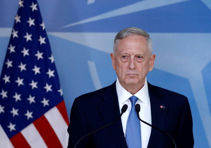 Jim Mattis (photo credit: REUTERS)