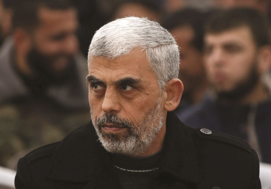 Le nouveau leader du Hamas, Yahya Sinwar