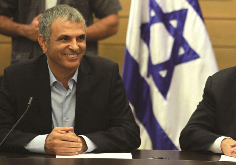 Le premier Ministre avec Moshé Kahlon