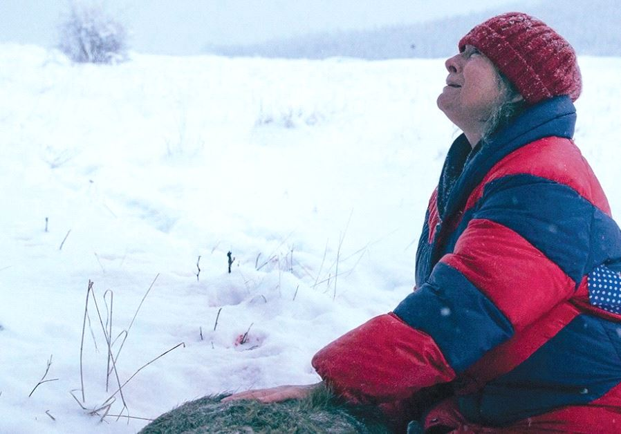 AGNIESZKA MANDAT stars in Agnieszka Holland's 'Spoor'