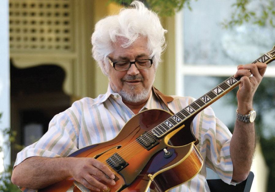 LEGENDARY JAZZ guitarist Larry Coryell.