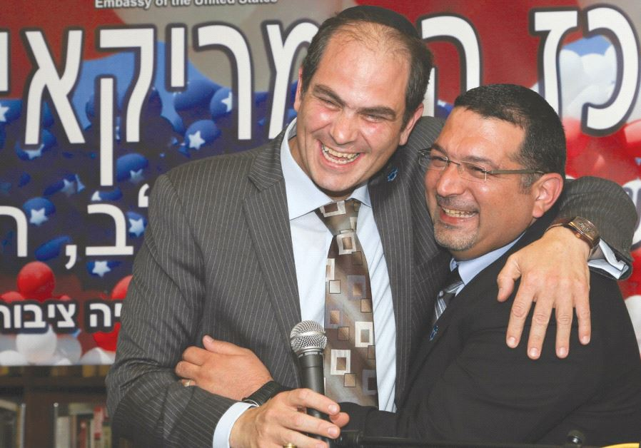 THE GOLDBERG PRIZE for Peace, where Eli and Murad Aliyan were awarded the prize for their work in im