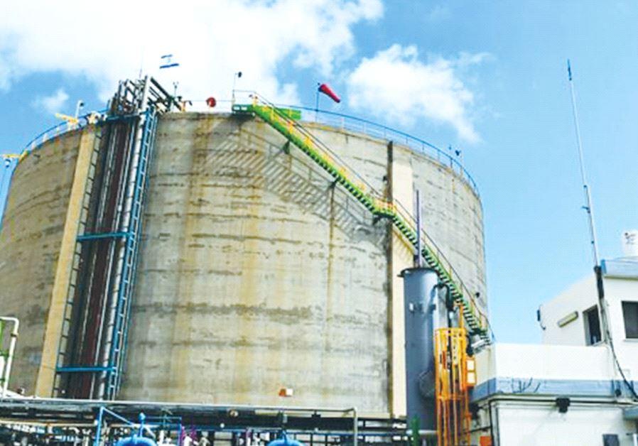 THE ENVIRONMENTAL PROTECTION MINISTRY will not renew the toxin permit for Haifa's ammonia storage ta