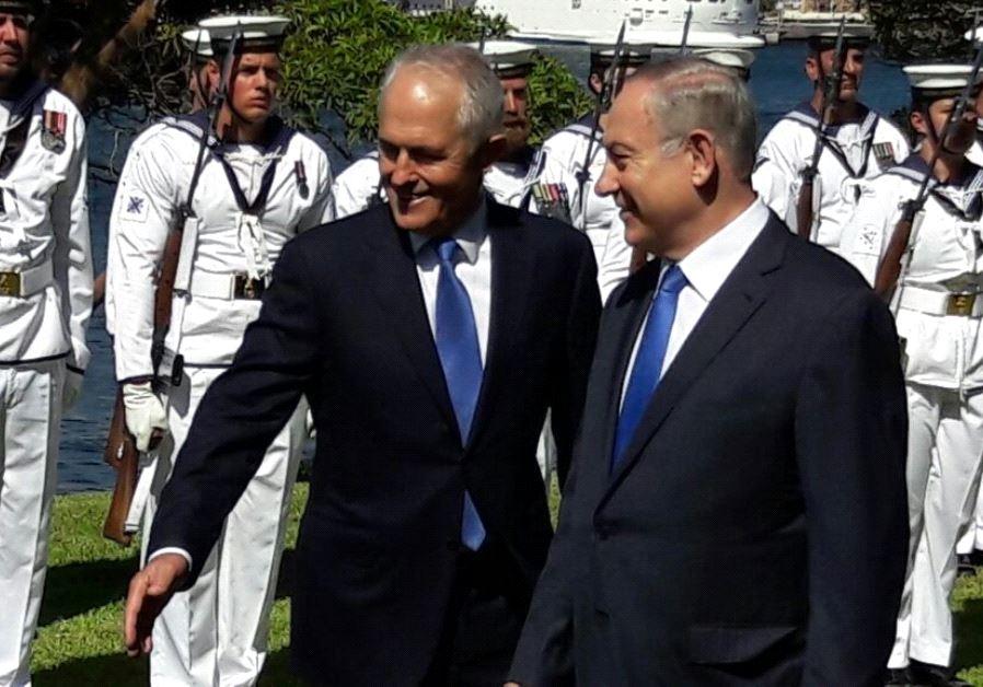 netanyahu Turnbull