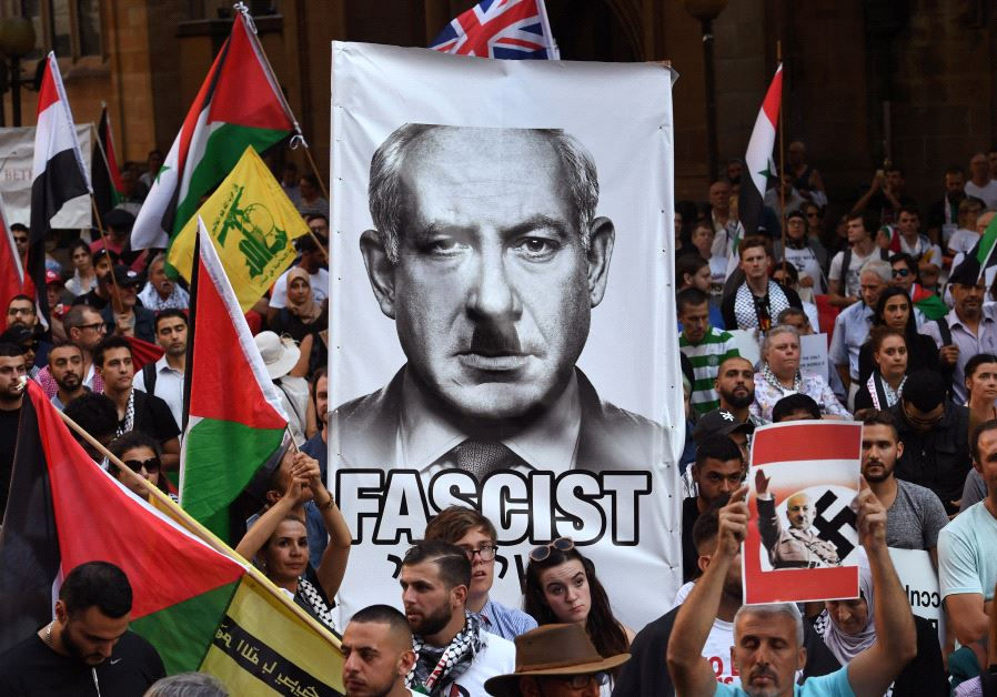 sydeny protest netanyahu