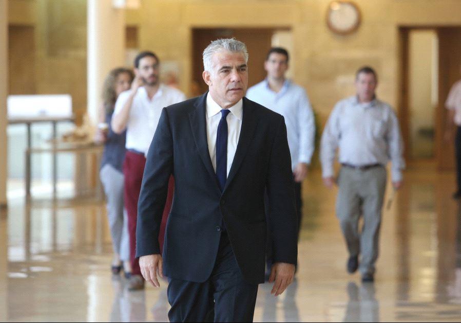 Yesh Atid chairman Yair Lapid (Marc Israel Sellem/The Jerusalem Post)