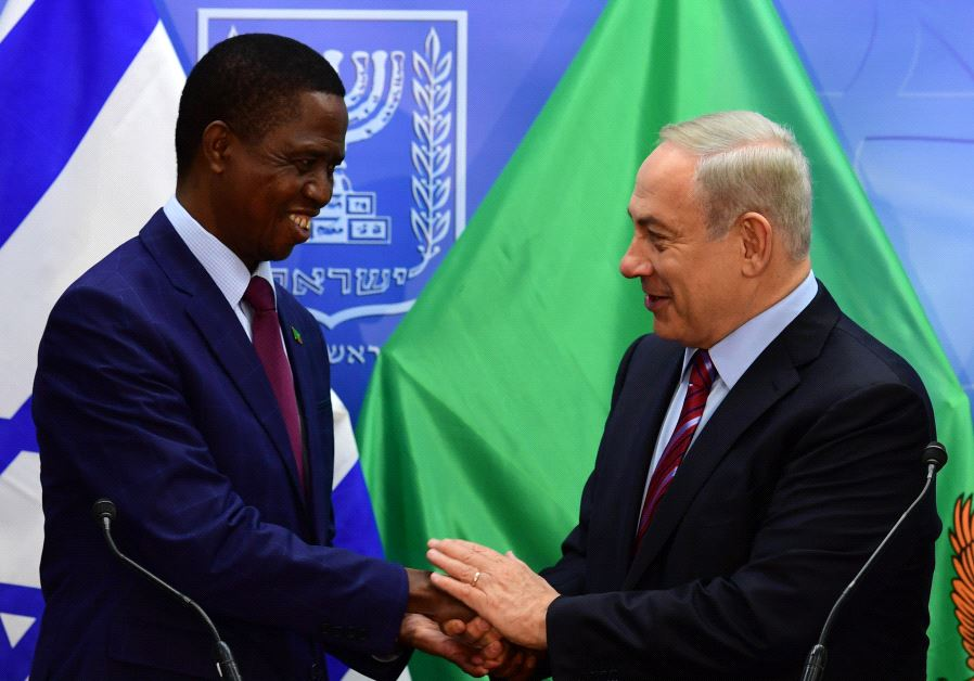 Netanyahu Edgar Chagwa Lungu