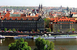 Prague from on high