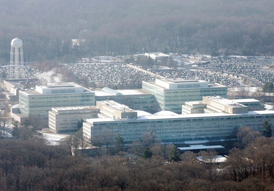 THE HEADQUARTERS of the Central Intelligence Agency is seen in Langley, Virginia.