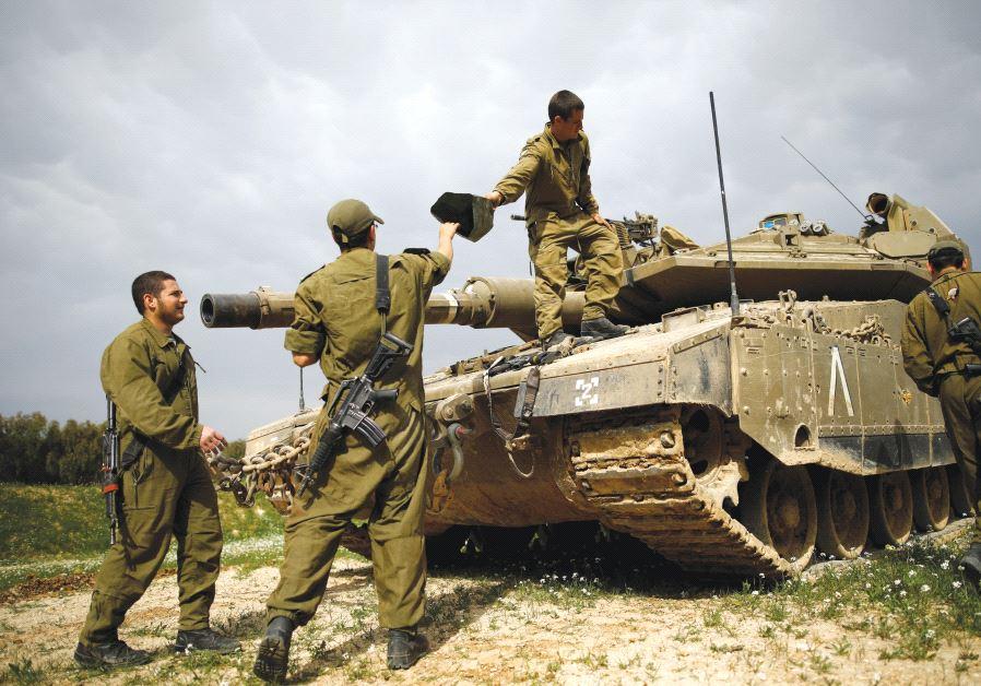 gaza soldiers