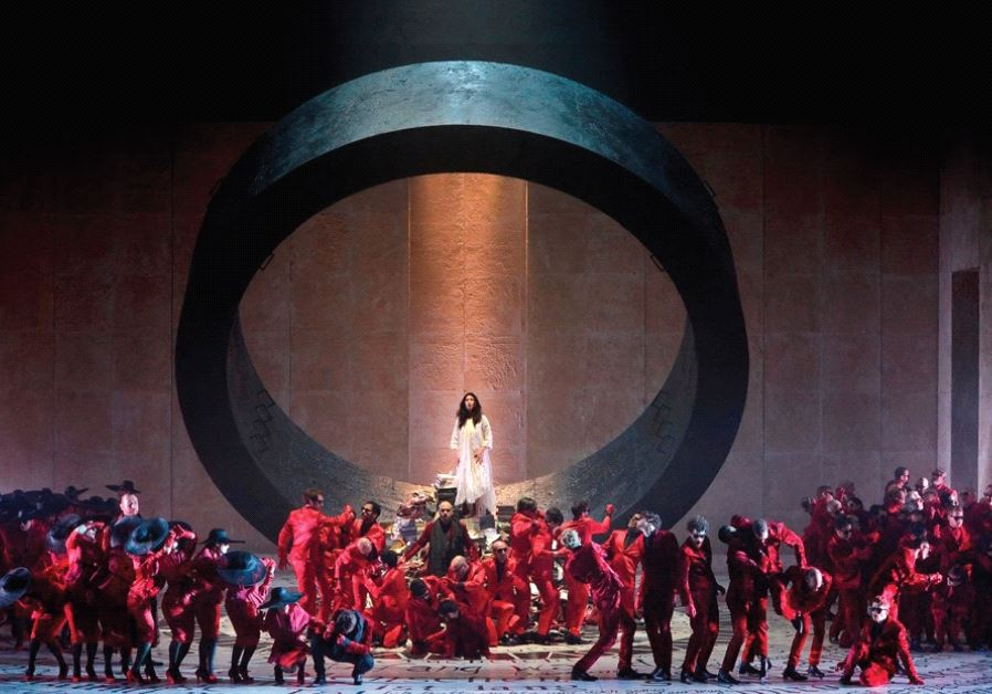 DEVIL IN the details: Israel Opera's production of 'Faust.'