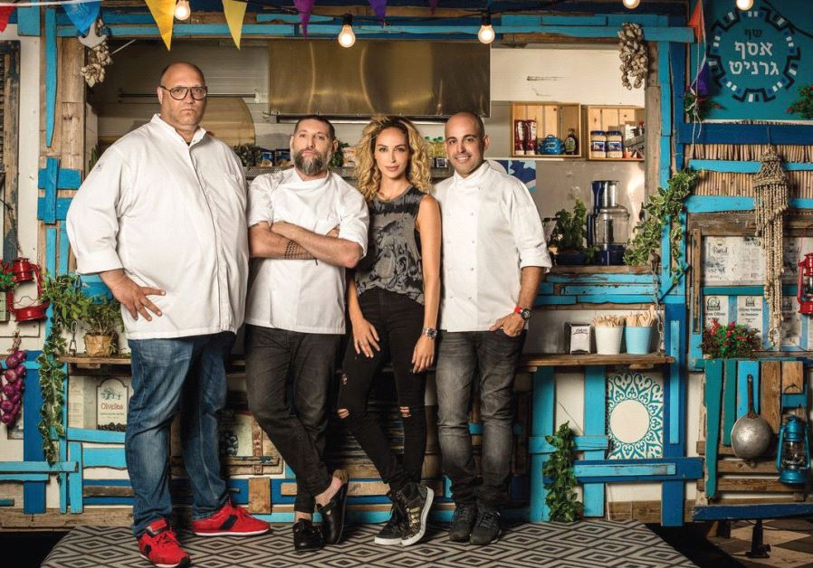MOSHIK ROTH, Assaf Granit, Miri Bohadana and Meir Adoni are all back for 'Games of Chefs: Food Truck