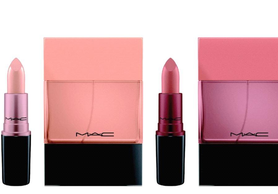 M.A.C. lipstick shades