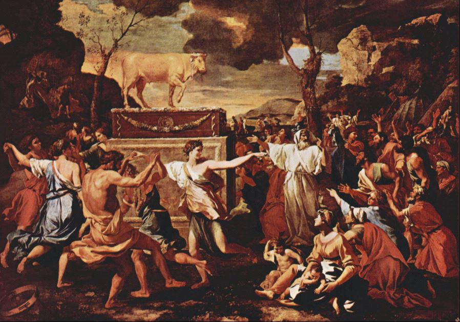 'The adoration of the Golden Calf'