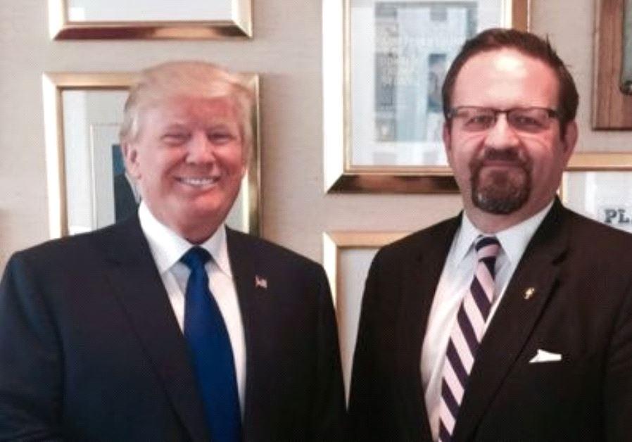 Sebastian Gorka and Donald Trump