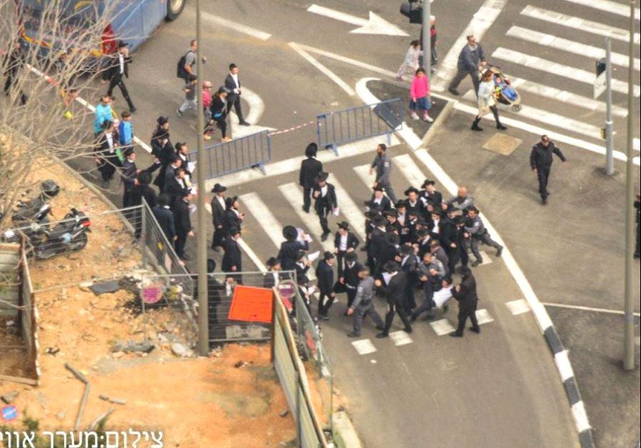 haredi protesters