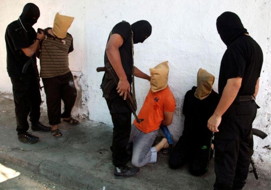 hamas execution