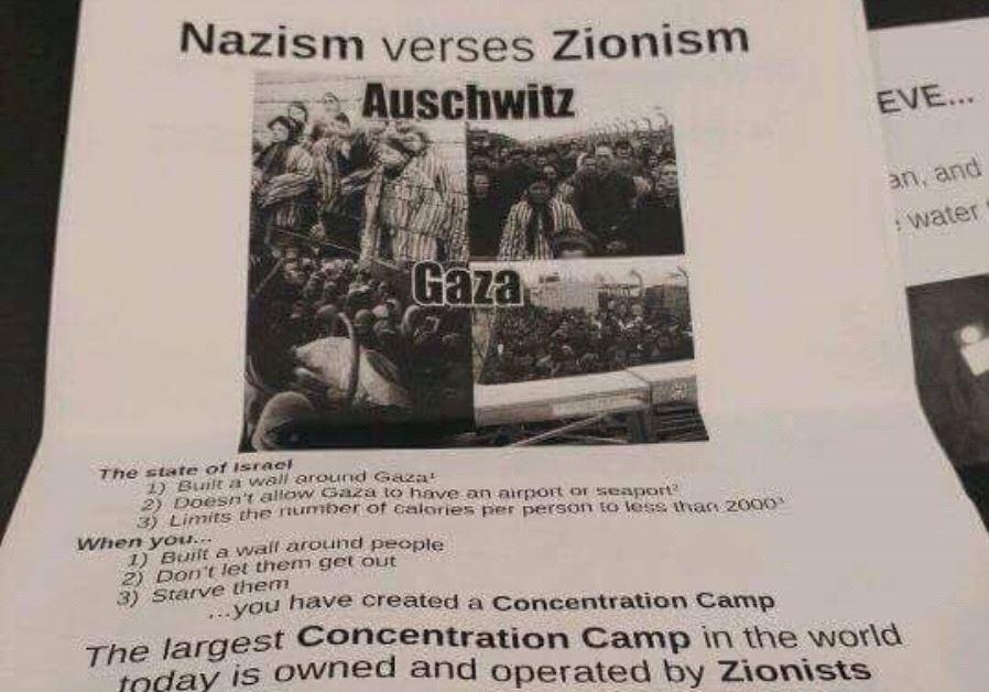antisemitic poster