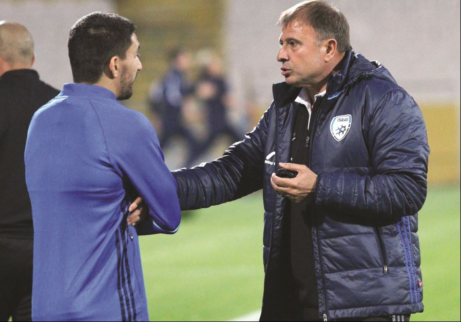 Blue-and-white hosts Macedonia in crucial contest for Levy