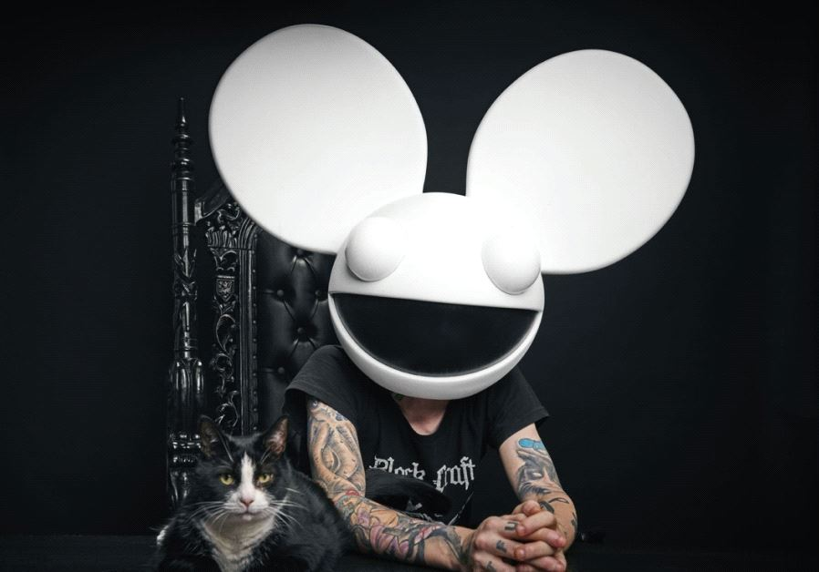 MASKED EDM hitmaker and celebrity DJ Deadmau5.
