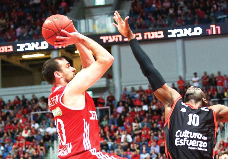 Hapoel Jerusalem captain Yotam Halperin (left) aims to build on his impressive performance in Game 2