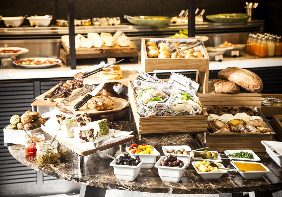 Breakfast foods at Cafe 65