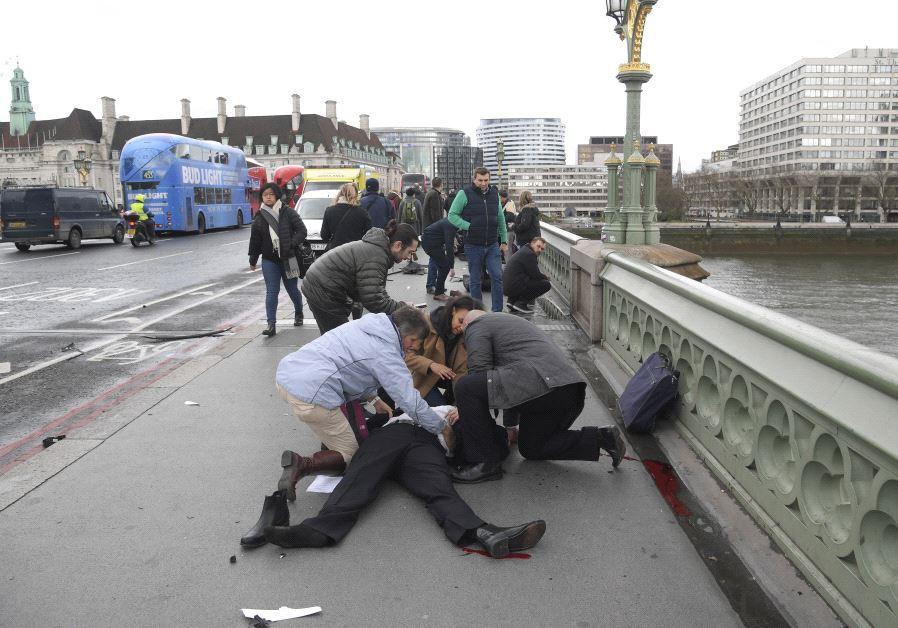 London injured