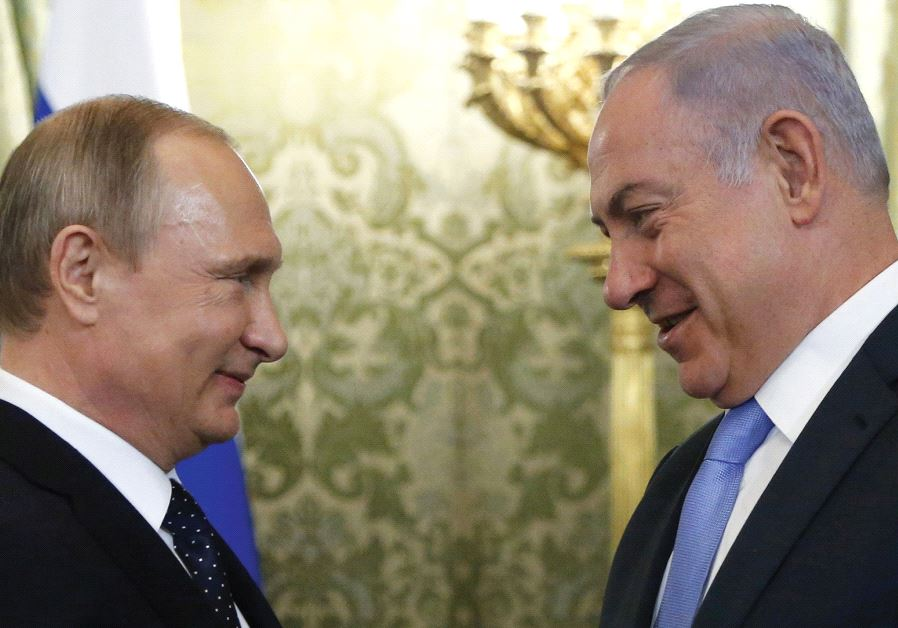 THE TIES between Russian President Vladimir Putin (left) and Prime Minister Benjamin Netanyahu have