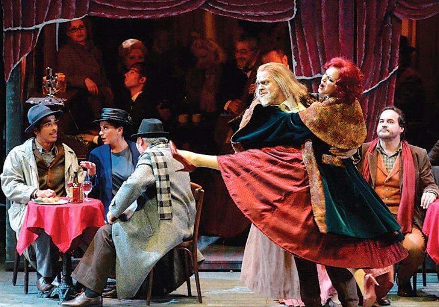 ISRAEL OPERA'S production of 'La Boheme.'