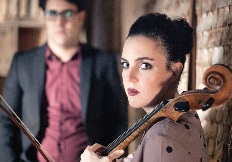 ISRAELI INDIE duo Maya Belsitzman and Matan Ephrat.