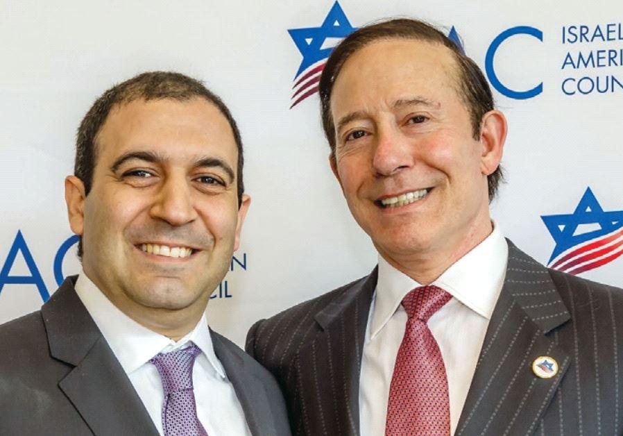SHOHAM NICOLET (left) and Adam Milstein.
