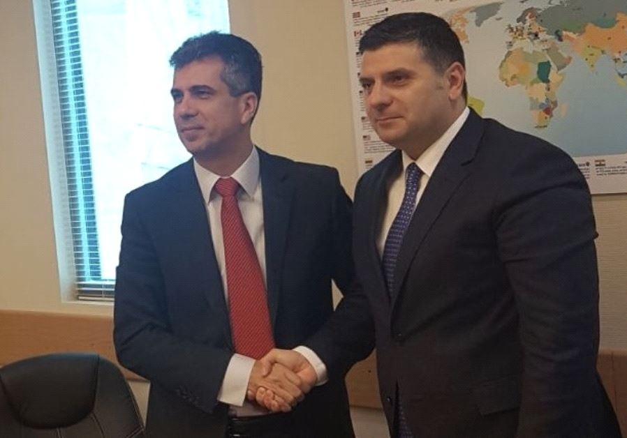 Israeli Economy Minister Eli Cohen and Romanian Business Environment, Commerce and Entrepreneurship