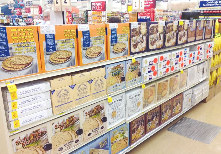 'SHMURA' MATZA WHOLESALER Yossi Frimerman said, 'It's the closest you'll get to what our ancestors h