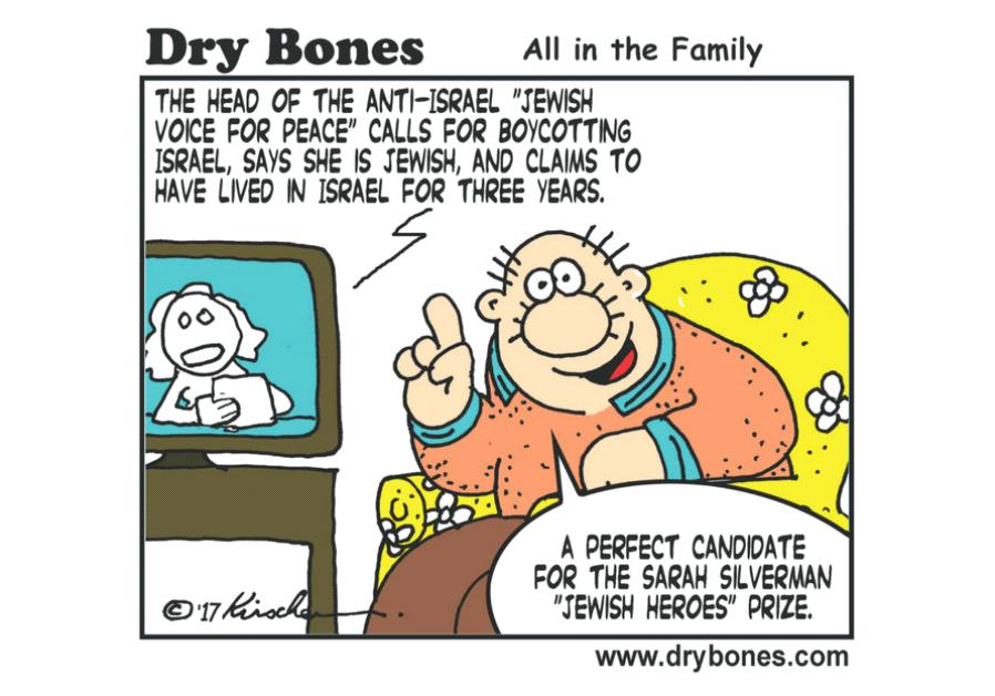 Dry Bones Cartoon
