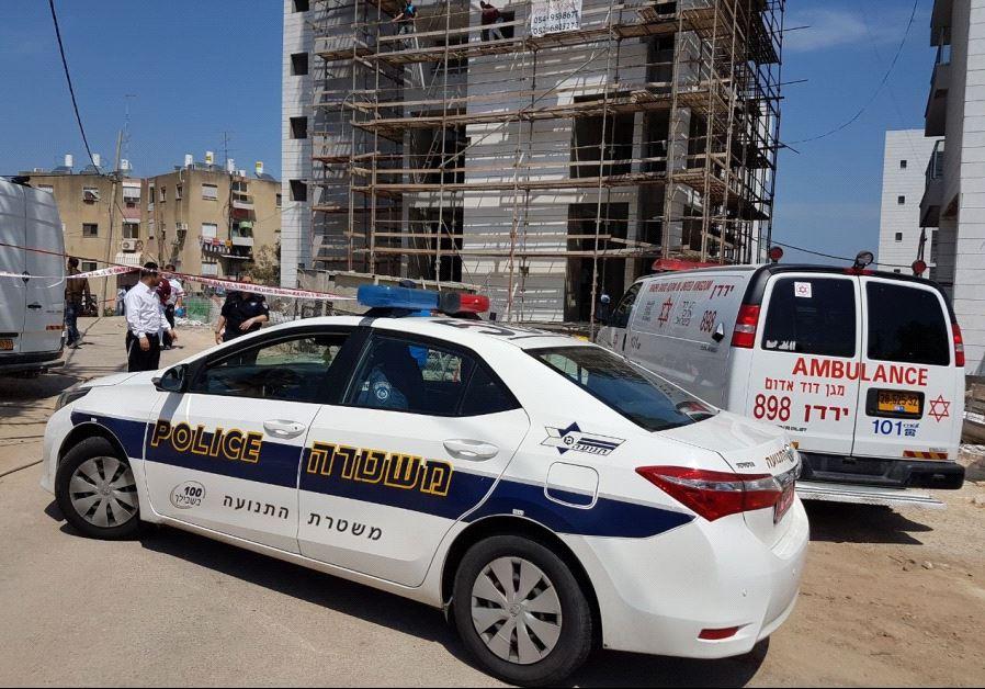 The scene of the crime in Tiberias