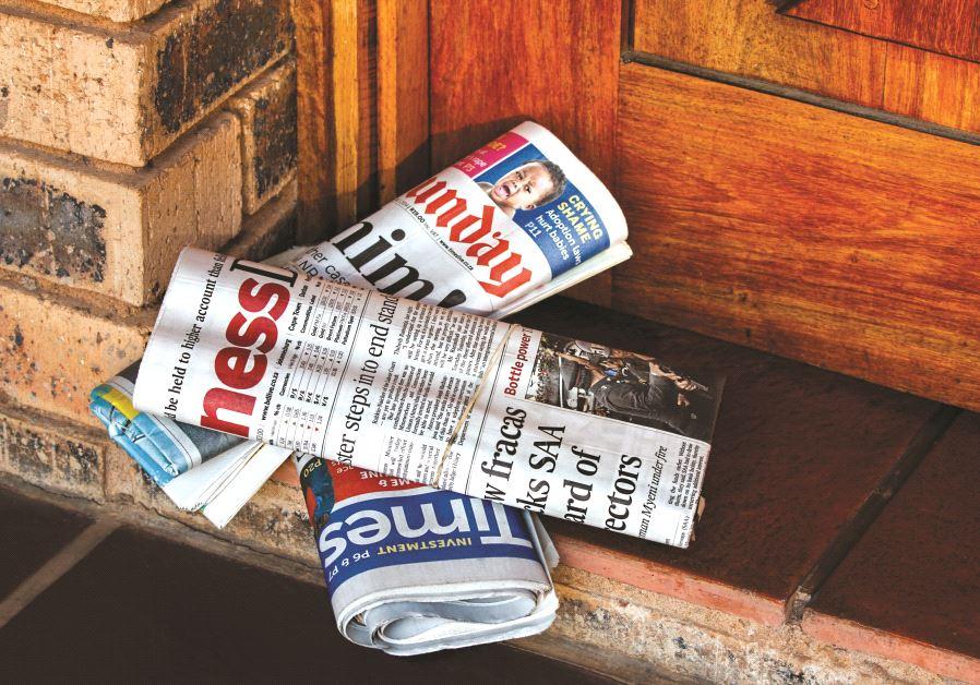 Des journaux anglophones