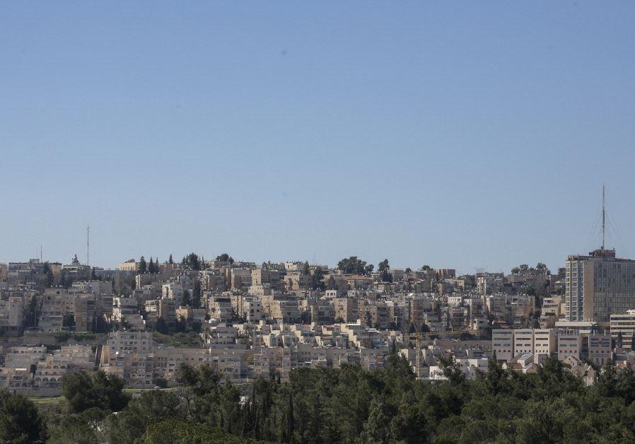 Une vue de Beit Vegan
