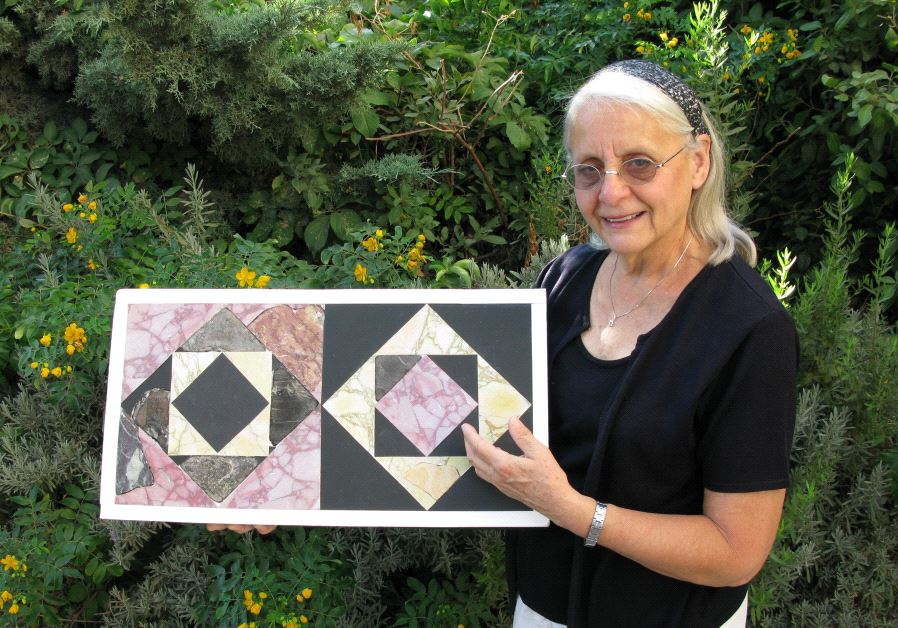 Second Temple period Opus Sectile floor tiles were reconstructed through research via the project's