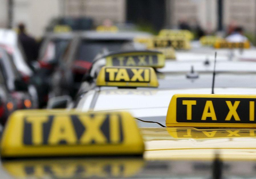 Taxi cars (photo credit: REUTERS)