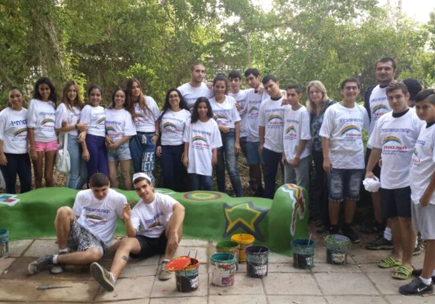 """Touching the Horizon"" participants from Sderot on a day of consolidation"